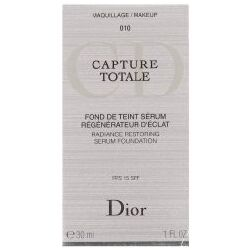 Christian Dior Capture Totale Radiance Restoring Serum Foundation 15 Spf 010 30 Ml