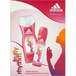 Adidas Fruity Rhythm 75Ml Deodorant Spray + 250Ml Gel de duș