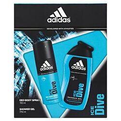 Adidas Ice Dive 150Ml Deodorant Spray + 250Ml Gel de duș