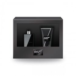 James Bond 007 Seven 30ml Apă De Toaletă + 50ml Gel de duș
