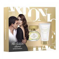Antonio Banderas Golden Secret 50ml Apă De Toaletă + 50ml Loțiune de corp