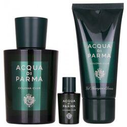 Acqua Di Parma Colonia Club 100Ml Apă De Colonie + 50Ml Gel de duș + 5Ml Apă De Colonie
