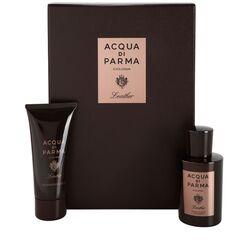 Acqua Di Parma Leather Concentree 100Ml Apă De Colonie + 75Ml Hair & Gel de duș