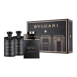 Bvlgari Man In Black 60Ml Apă De Parfum + 40Ml After Shave Balsam + 40Ml Gel de duș III