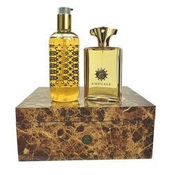 Amouage Gold Pour Homme 100ml Apă De Parfum + 300ml Gel de duș