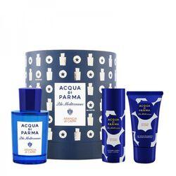 Acqua Di Parma Blu Mediterraneo Arancia Di Capri 75ml Apă De Toaletă + 40ml Gel de duș + 50ml Loțiune de corp