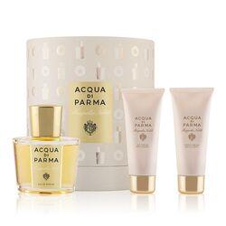 Acqua Di Parma Magnolia Nobile 100ml Apă De Parfum + 75ml Loțiune de corp + 75ml Gel de duș I
