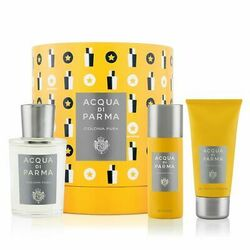 Acqua Di Parma Colonia Pura 100ml Apă De Colonie + 50ml Deo + 75ml Gel de duș