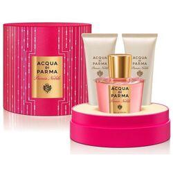 Acqua Di Parma Peonia Nobile 100ml Apă De Parfum + 75ml Loțiune de corp + 75ml Gel de duș I