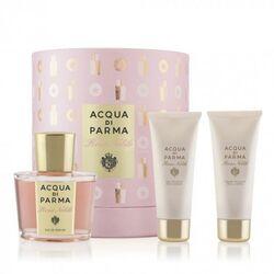 Acqua Di Parma Rosa Nobile 100ml Apă De Parfum + 75ml Gel de duș + 75ml Cremă de corp