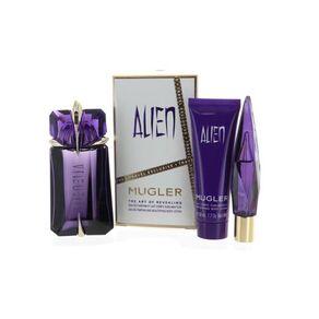 Thierry Mugler Alien 60ml Apă De Parfum + 50ml Loțiune de corp +10ml Apă De Parfum Purse Spray